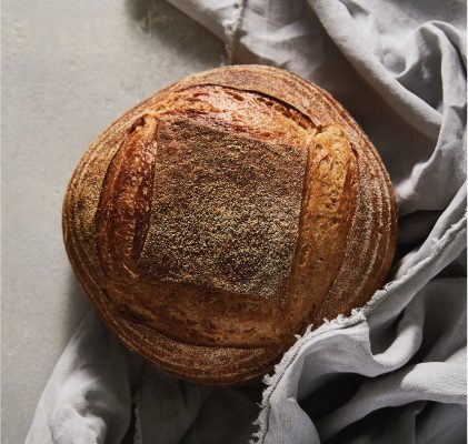 Cobb Lane light rye sourdough bread at Hyde street bakery in Yarraville
